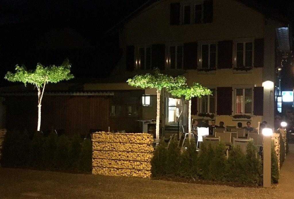 Gartenaussenbeleuchtung Arbon Thurgau Garten-Aussenbeleuchtung Uttwil