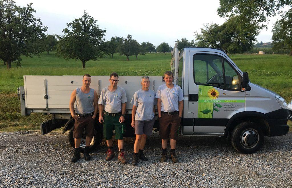 Remo Schefer Gartenpflege & Gartenbau_Wuppenau Thurgau Team