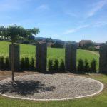Sichtschutz Gartenanlage Weinfelden Thurgau