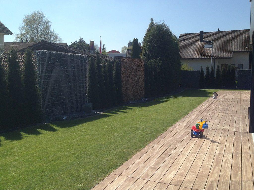 Sichtschutz im Garten Schweiz Thurgau Schweiz Beispiel Sichtschutz Lösungen