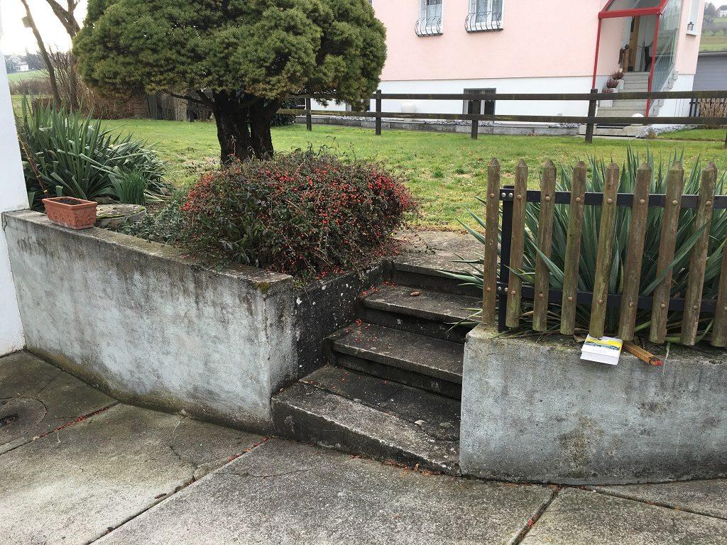 EFH Tägerwilen Umänderung Gartenbau Thurgau Muster