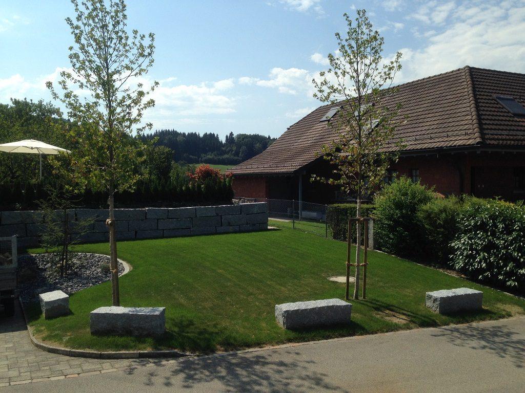 EFH Wuppenau im Thurgau mit Gartenanlage