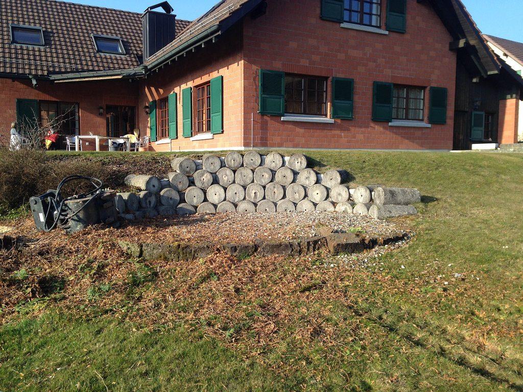 EFH Wuppenau Neuanlage Gartenbau Thurgau