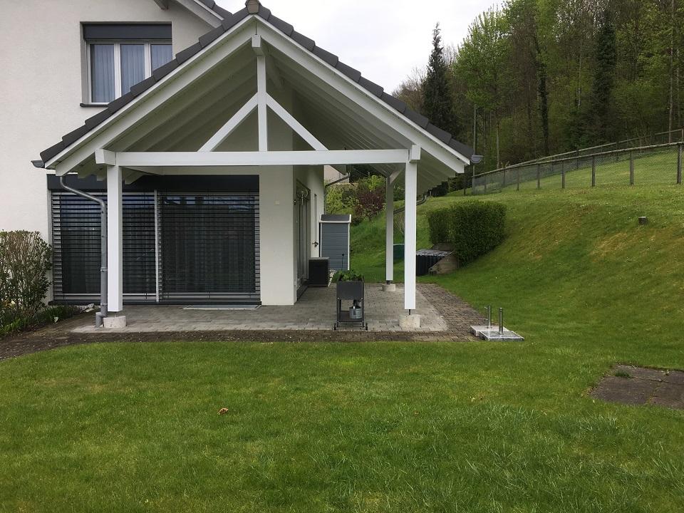 EFH- Bischofszell Gartenumänderung