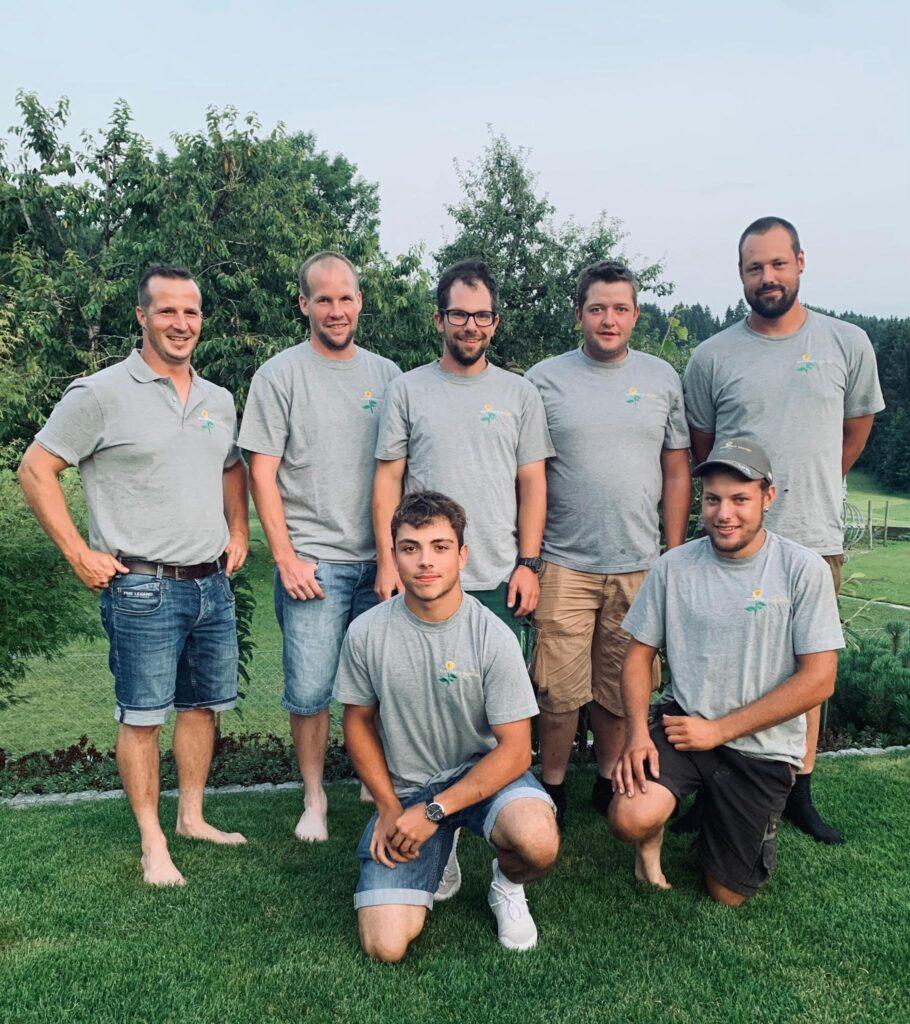 Team Foto Schefer s Garten GmbH Gaertner Gartenbau Wil SG